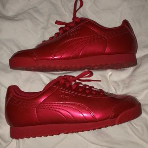 Puma Kids Patent Leather Sneakers